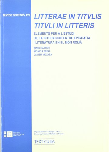 Litterae In Titulis, Tituli In L por Mònica Miró Vinaixa