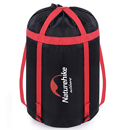 Uarter Waterproof Compression Sack Sleeping Bag Pack Storage Bags for Camping Black