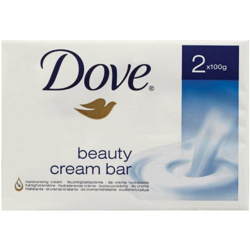 Dove Gentle Exfoliating Beauty Cream Bar 2 X 100G- Pack Of 3
