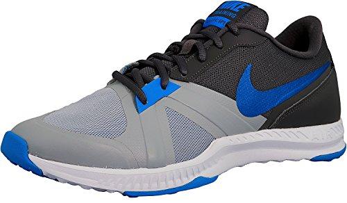 Nike 819003-006, Scarpe da Ginnastica Air Epic Speed Uomo Grigio (wolf grey/blue glow-dark grey-cool grey)