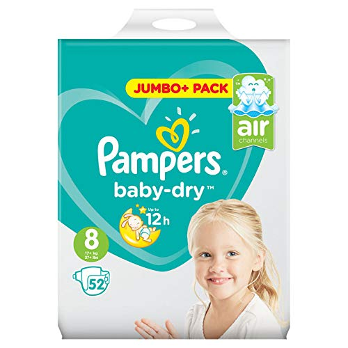 Pampers Gr. 8 Baby Dry 52 Stück