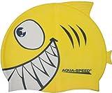Aqua Speed - Kinder Bademütze/Schwimmkappe - SHARK 110-18 (print 6)