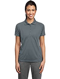 Sport-Tek® Ladies Dri-Mesh® Pro Polo. L474 Steel XL