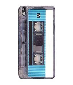 HTC Desire 816, HTC Desire 816 Dual Sim, HTC Desire 816G Dual Sim Back Cover Cassette Icon Design From FUSON