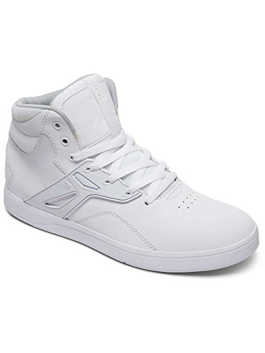 DC Shoes Frequency High - Chaussures Montantes Pour Homme ADYS100410 Blanc - White