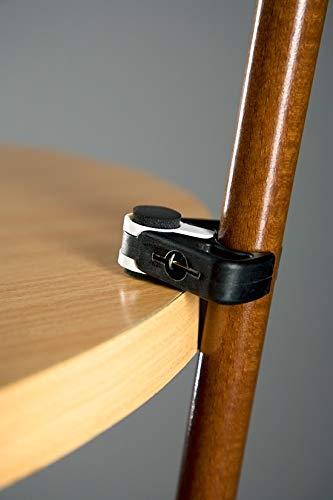 Stockhalter schwarz für einen Gehstock oder Spazierstock vom Stock-Fachmann
