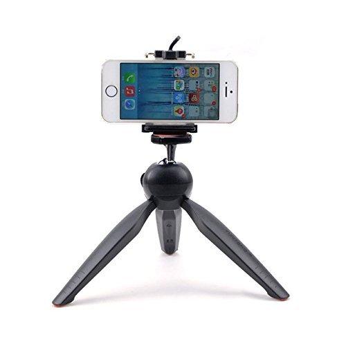 Mini Tripod Universal YT-228 For Digital Camera & All Mobile Phones- Black...