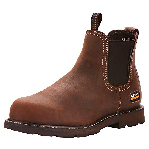Ariat Grounbreaker H2O Steel Toe Safety Boots 44.5 EU Dark Brown Ariat Steel-toe Boots