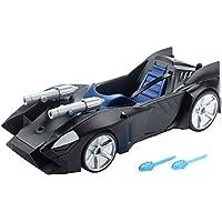 Justice League-FDF02 Batman Vehículo Batmobil lanzamísil, (Mattel FDF02)