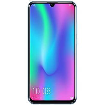 Honor 10 Lite - Smartphone, Pantalla de 6,21'', Cámara Dual 13 MP+2 MP, Frontal 24 MP, 3GB RAM, 64 GB, Dual SIM, Flip Protective Cover), Versión Española, Azul