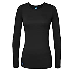 Adar Womens Universal Long Sleeve Comfort Tee - 2900 - Black - Xl