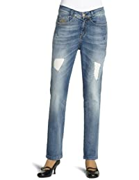 Killah Damen Jeanshose/ Lang Comfort Fit, JA1002-DL0130-F09950-L00P23, Tapered Fit (Karotte)