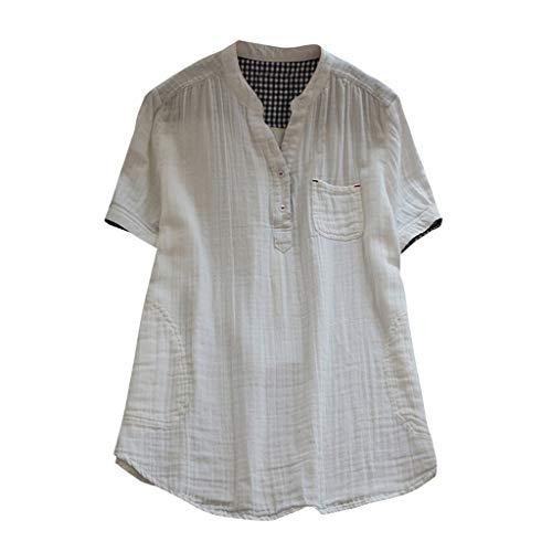 k Volltonfarbe Spitze Patchwork Langarmshirts T-Shirt Bluse ()