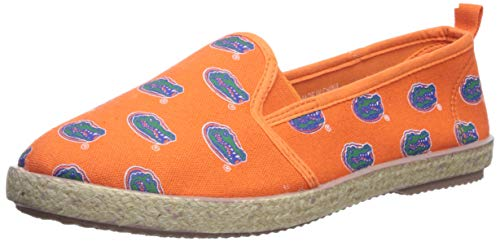 Espadrille Canvas Schuh - Damen, Damen, Florida Gators, Medium ()