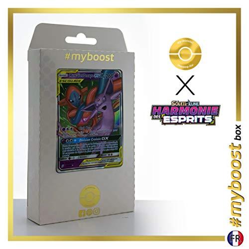 Mentali et Deoxys-GX 72/236 - #myboost X Soleil & Lune 48 Harmonie des Esprits - Coffret de 10 Cartes Pokémon Françaises