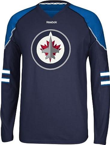 Winnipeg Jets Reebok NHL Edge Trikot Jersey Long Sleeve T-shirt