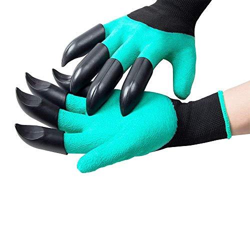 be-tool, guanti da giardinaggio, guanti da giardinaggio, impermeabili e resistenti alla foratura, unisex, taglia unica per potare rose, scavare, piantare, rastrellare