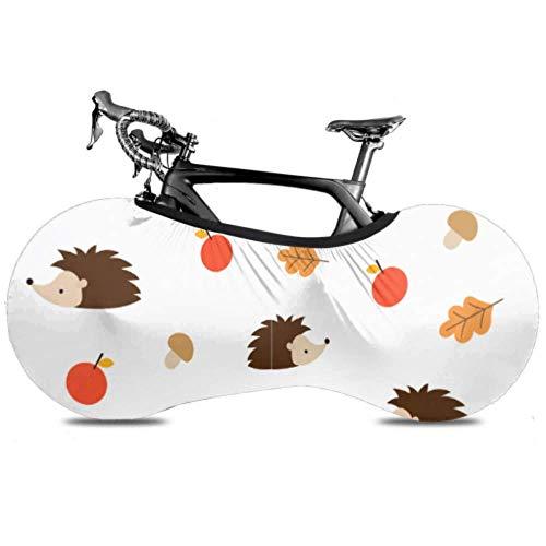 [Característica]  1. Fabricada en poliéster, esta funda protectora para bicicleta es resistente, duradera y elástica  2. Este protector de bicicleta puede proteger los neumáticos del sol  3. La cubierta antipolvo puede mantener la rueda alejada de la...