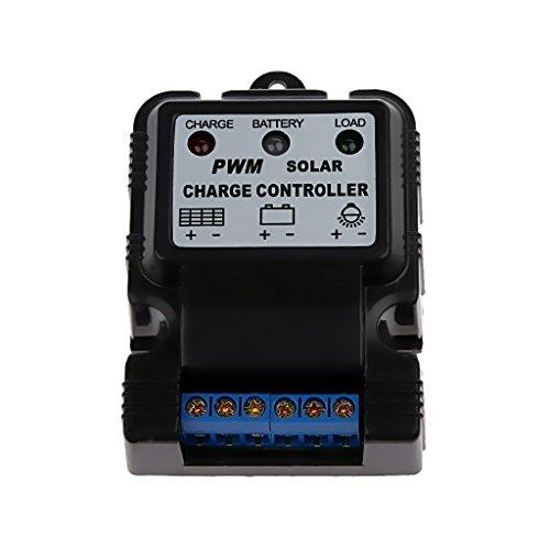 Gama conveniente:    El controlador sólo es aplicable a la energía solar, la tensión nominal de los sistemas de 6V / 12V / 24V de la batería, las baterías de gel, aberturas de líquido o baterías de plomo-ácido selladas.  Nota: específicamente la c...