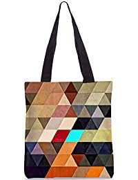 Snoogg Tote Bag 13.5 X 15 Inches Shopping Utility Tote Bag Made From Polyester Canvas - B01GCIM2M2