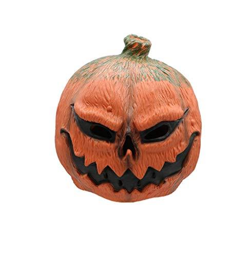 Halloween Neuheit Horror Kürbis Lampe Maske Latex Lustige Horror Maske Requisiten Scary Masquerade Und Rollenspiele