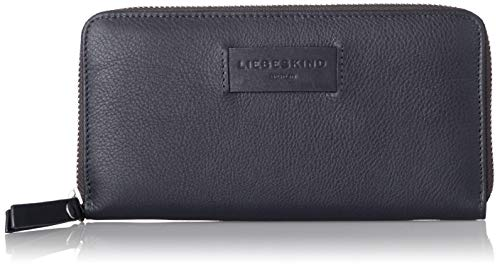 Liebeskind Berlin Damen Essential Sally Wallet Large Geldbörse, Blau (Navy Blue), 2x9x19 cm