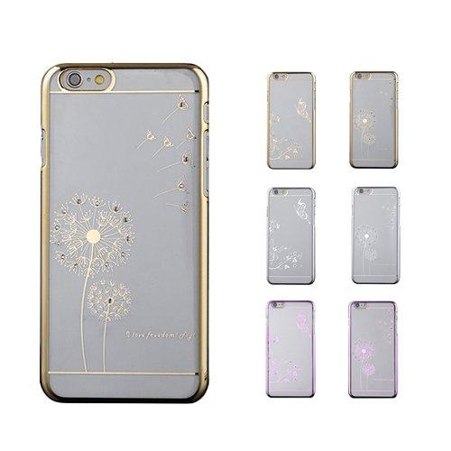 """F8Q Papillon de luxe Motif strass cristal de diamant transparent Shell de protection pour Apple IPhone 6 6S 4.7 """" Style D"""