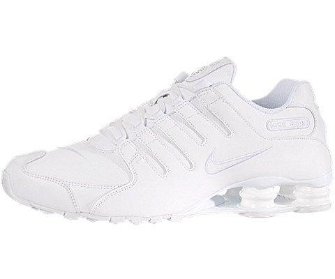 Nike Shox NZ Hommes US 11 Blanc Chaussure de Course UK 10 EU 45