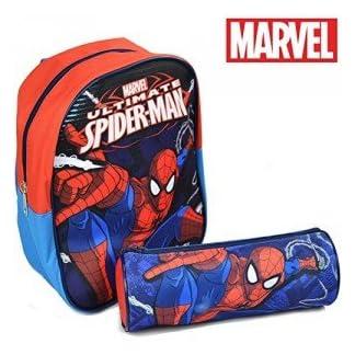 Set mini packpack 24cm +portatodo 22cm de Spiderman