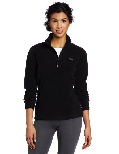 helly-hansen-womens-day-breaker-1-2-zip-fleece-jacket-black-medium
