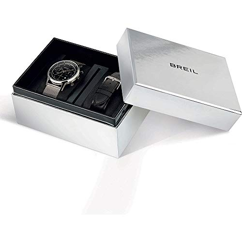 Orologio cronografo uomo BREIL Six.3.Nine con Doppio cinturino in Pelle TW1805