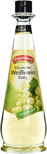 Hengstenberg Weißwein Essig, 6er Pack (6 x 500 ml)
