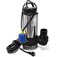 Schmutzwasserpumpe V2200F mit Schwimmerschalter 42000 L/h mit nur 2200 W Förderhöhe bis 17 m