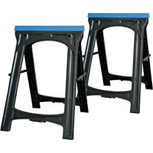 Silverline 793813 Saw Horse Twin Pack, 100 kg