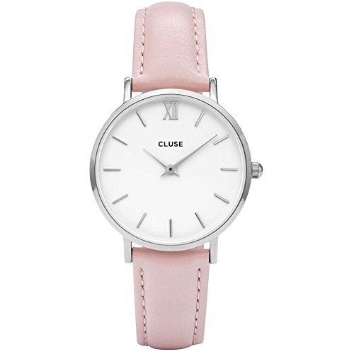 Cluse Damen-Armbanduhr Analog Quarz Leder CL30005