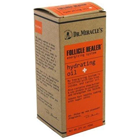 Dr. Miracles Follicle Healer Hydrating Oil 2 oz. (Pack of 3) by Vidimear