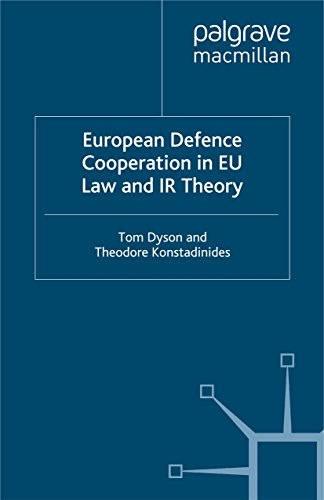 European Defence Cooperation in EU Law and IR Theory (New Security Challenges) (English Edition)