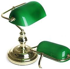Klassische Bankerlampe