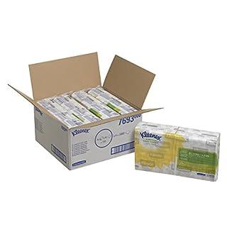 Kleenex 7693 Slimfold Handtücher, 1-lagige, 8 Packungen x 90 Tücher, weiß