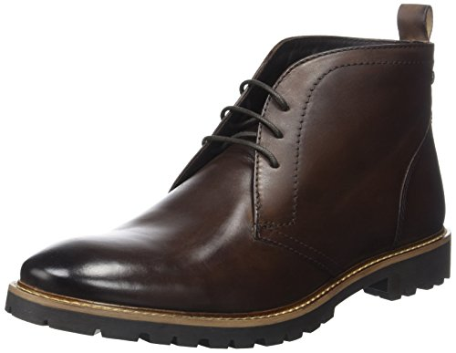 Base London Men's Trojan Chukka Boots brown Size: 9 UK