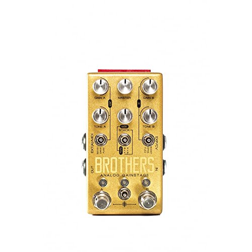 CHASE BLISS AUDIO BROTHERS PARALLEL BOOST/DRIVE/FUZZ GUITAR PEDAL