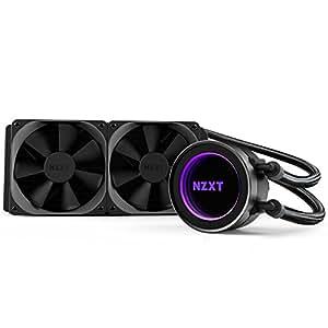 NZXT - Kraken X52 - RL-KRX52-02 - Watercooling tout-en-un (AIO) - 240mm - RGB Effet miroir infini - Compatible Intel/AMD/AM4/TR4
