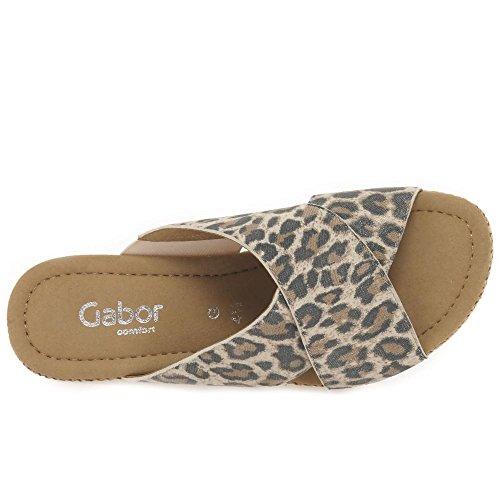 GaborPurpose - Sandali con Zeppa donna Leopard Print SS17