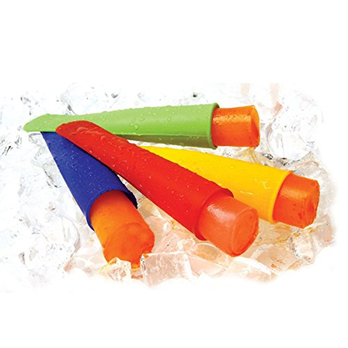 Maker Orange Cream Ice (ounona 7 Farben Silikon Push Up Ice Lolly Popsicle Schöpfern Form (lila orange rosa rot grün gelb blau))