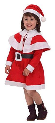 Mama Weihnachtsmann Kostüm - ATOSA-B/Kleiderbügel Mama Kostüm Weihnachtsmann Mädchen-2
