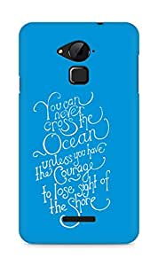 AMEZ you can never cross the Ocean Back Cover For Coolpad Note 3