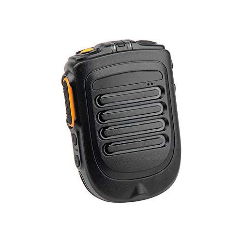 SMFYY Telefono Cellulare Bluetooth Walkie-Talkie Wireless, Microfono Portatile Portatile Indicatore LED Blu/Verde
