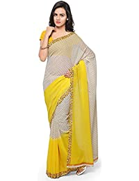 Anand Sarees Georgette Saree With Blouse Piece (1194_2_Multicoloured_Free Size)