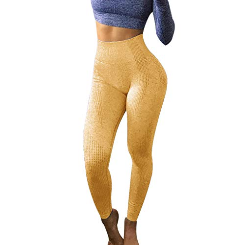 JKLEUTRW Yoga Pants Damen Sexy Frauen Hüften Nahtlose Jacquard Hohe Taille Schnell Kompression Shorts Fitness Sport Yoga Hosen Atmungsaktive Endurance Training Laufhose Capri Sportswear Rosa Capri-outfit