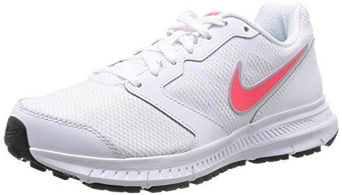 Nike Wmns Downshifter 6 Scarpe da Ginnastica, Donna, Bianco (White (White/Hyper Punch-Lite Magnet Grey)White/Hyper Punch-Lite Magnet Grey), 39